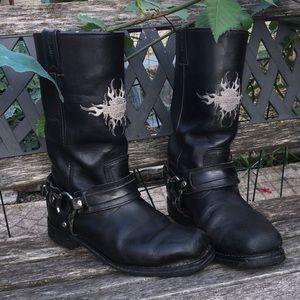 Harley Davidson Men's Size 8.5 Black Boots
